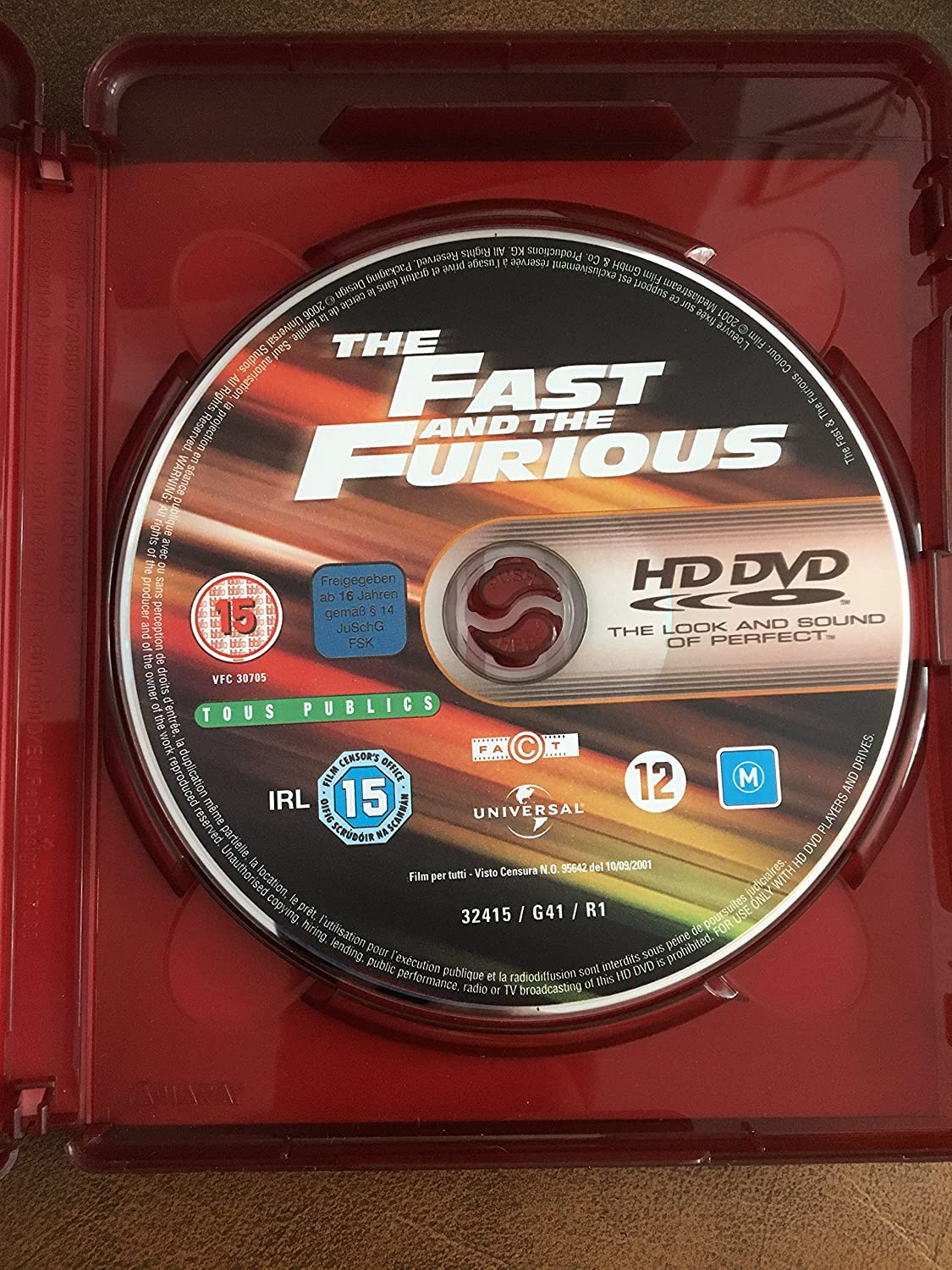 Fast and the Furious, The Region B Audio español. Subtítulos en español: Amazon.es: Paul Walker, Vin Diesel, Michelle Rodriguez, Jordana Brewster, ...