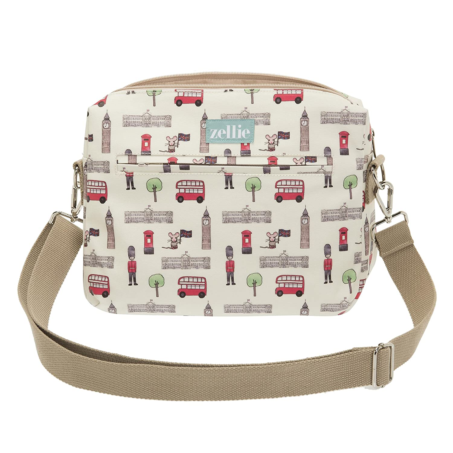 Includes Pram Straps and Travel Changing Mat Travel Nappy Pouch Toddler and Baby Travel Pouch Small Baby Changing Bag London Guards Design