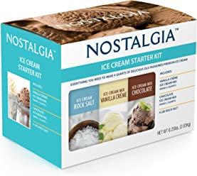 Nostalgia ISK3 Premium Ice Cream Starter Kit