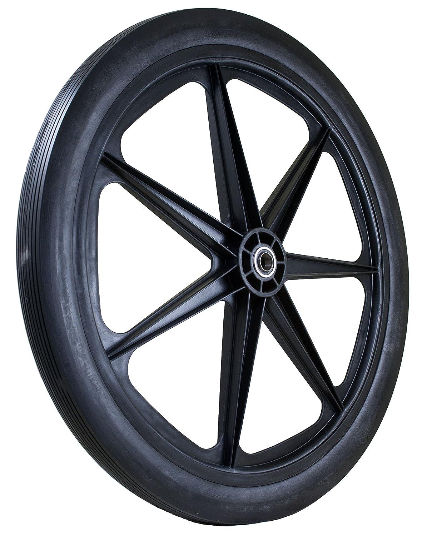 Marathon 24x2 0 Flat Free Cart Tire On Plastic Rim