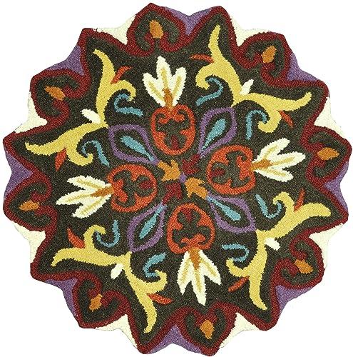 Loloi GARDENIA Area Rug, 3 0 x 3 0 , Brown