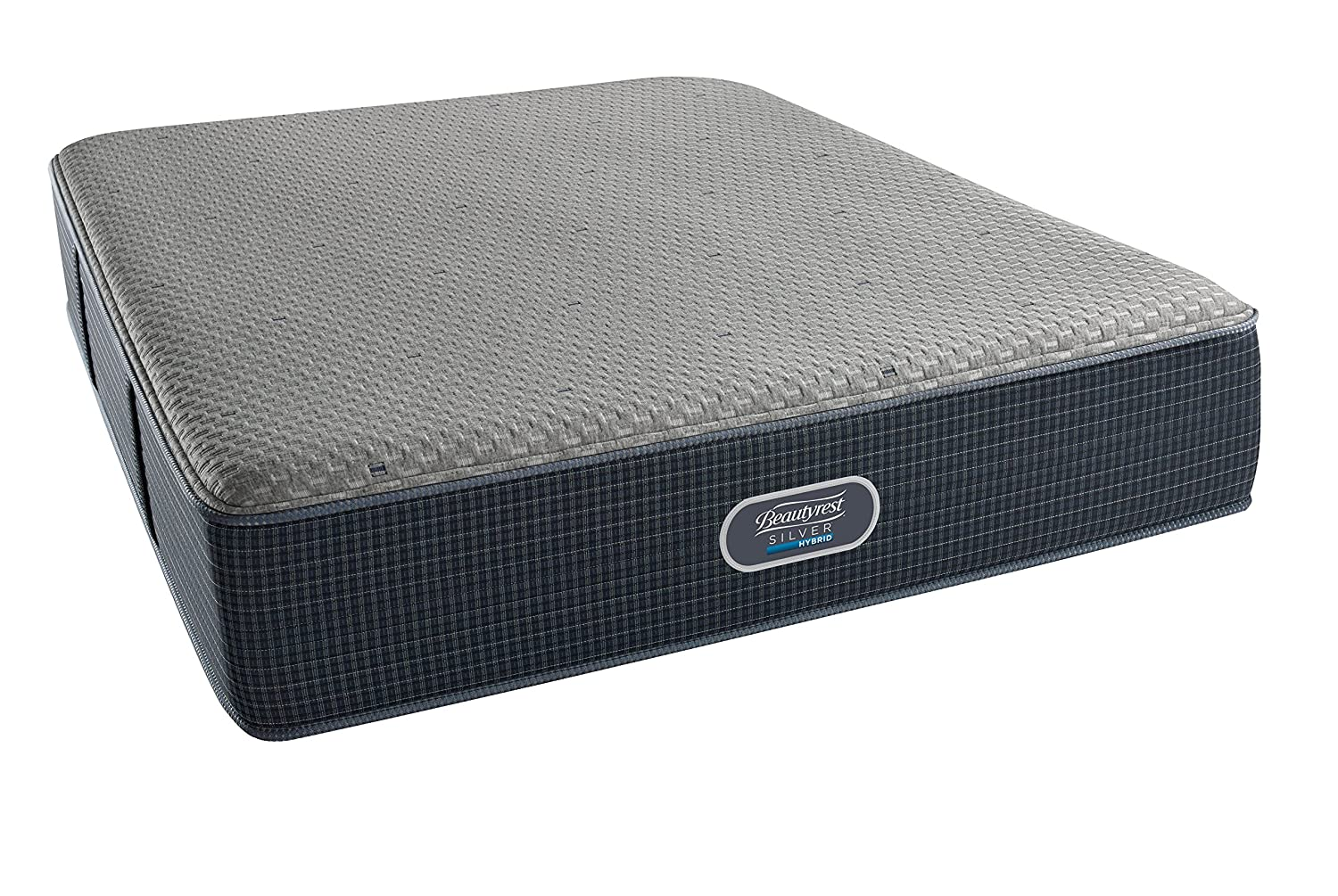 amazon com beautyrest silver hybrid firm 3000 queen hybrid