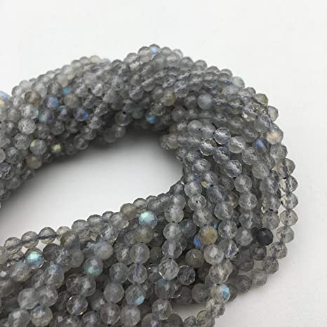 Faceted Silver Beads for Jewelry Making or Beading Designs 2 mm Round