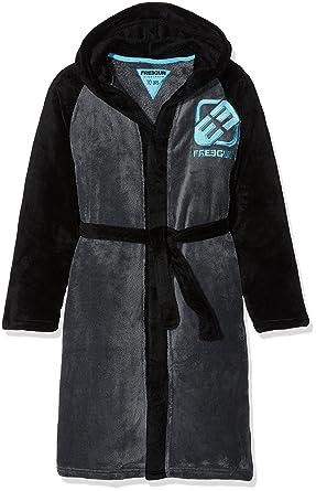 Rcfz Mz Peignoir Garcon Noir Gris Noir  Ans Taille Fabricant  Y Amazon Fr Vetements Et Accessoires