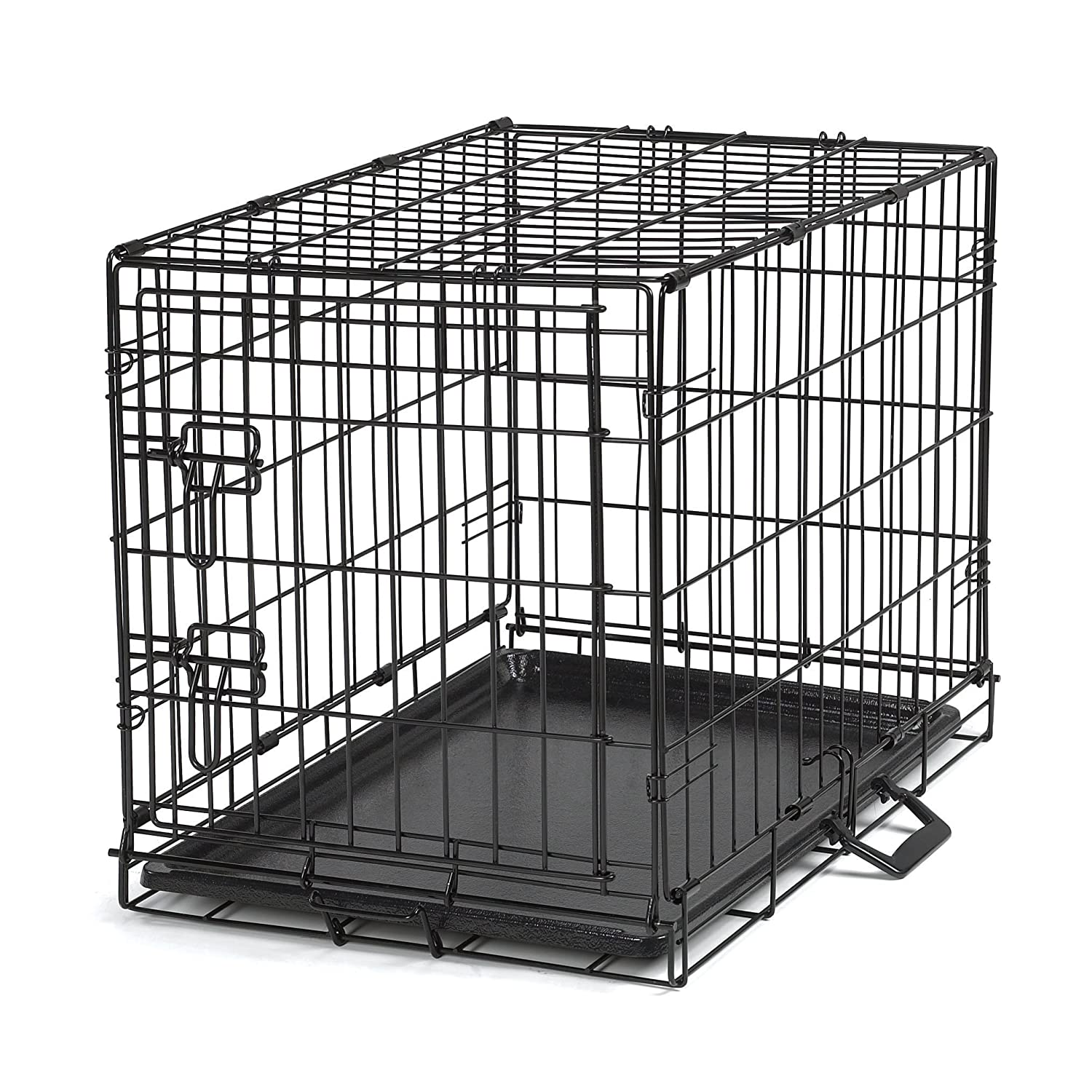 Amazon.com : Proselect Easy Dog Crates for Dogs and Pets - Black; Extra  Large : Pet Crates : Pet Supplies