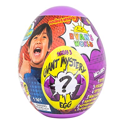RYAN'S WORLD Giant Mystery Egg Series 3: Toys & Games