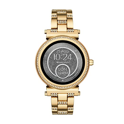 b2ab35db8b0c Michael Kors Women's Smartwatch Sofie MKT5023: Amazon.co.uk: Watches