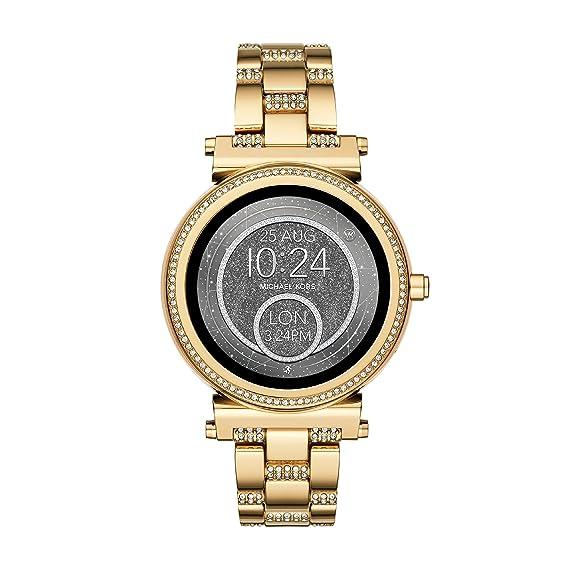 66d2981c262c Image Unavailable. Image not available for. Colour  Michael Kors Women s  Smartwatch Sofie MKT5023