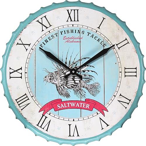 Infinity Instruments Saltwater Fishing Clock, Blue
