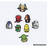 Exclusive Refrigerator Magnets -BeAwesome Magnets Star wars Star wars toys-Star Wars Refrigerator Magnets-Star Wars Set of 8 Magnets Home Kitchen Décor