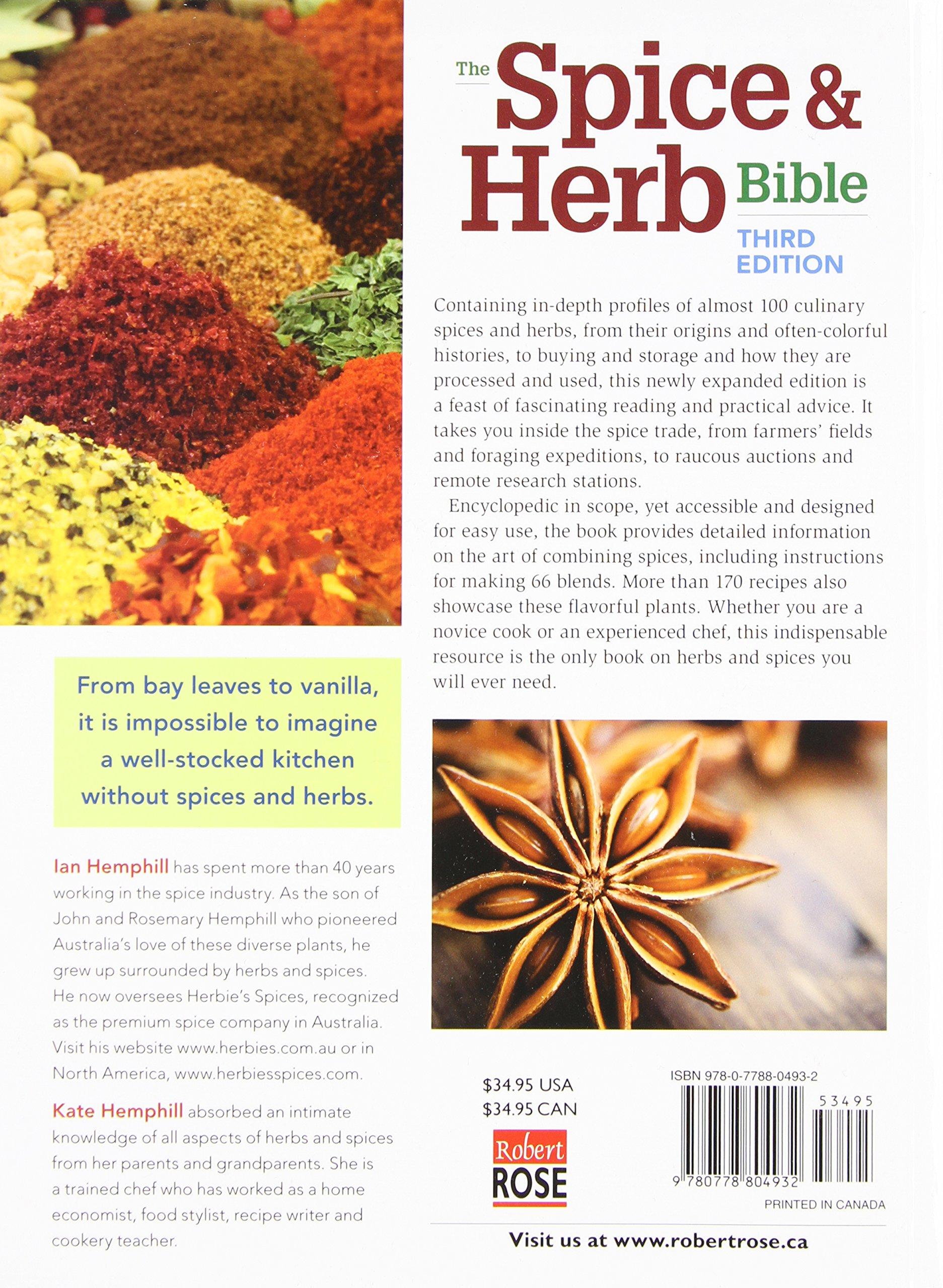The Spice and Herb Bible: Ian Hemphill, Kate Hemphill: 9780778804932 ...