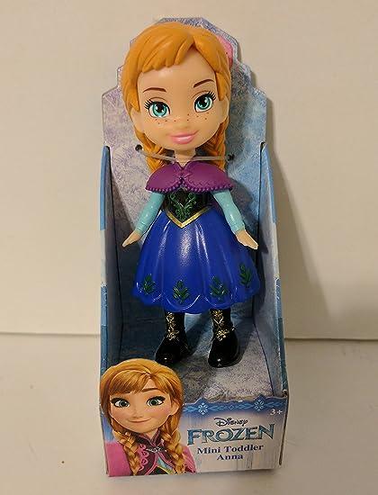 Amazon.com: Disney Princess Poseable Anna Película Vestido ...
