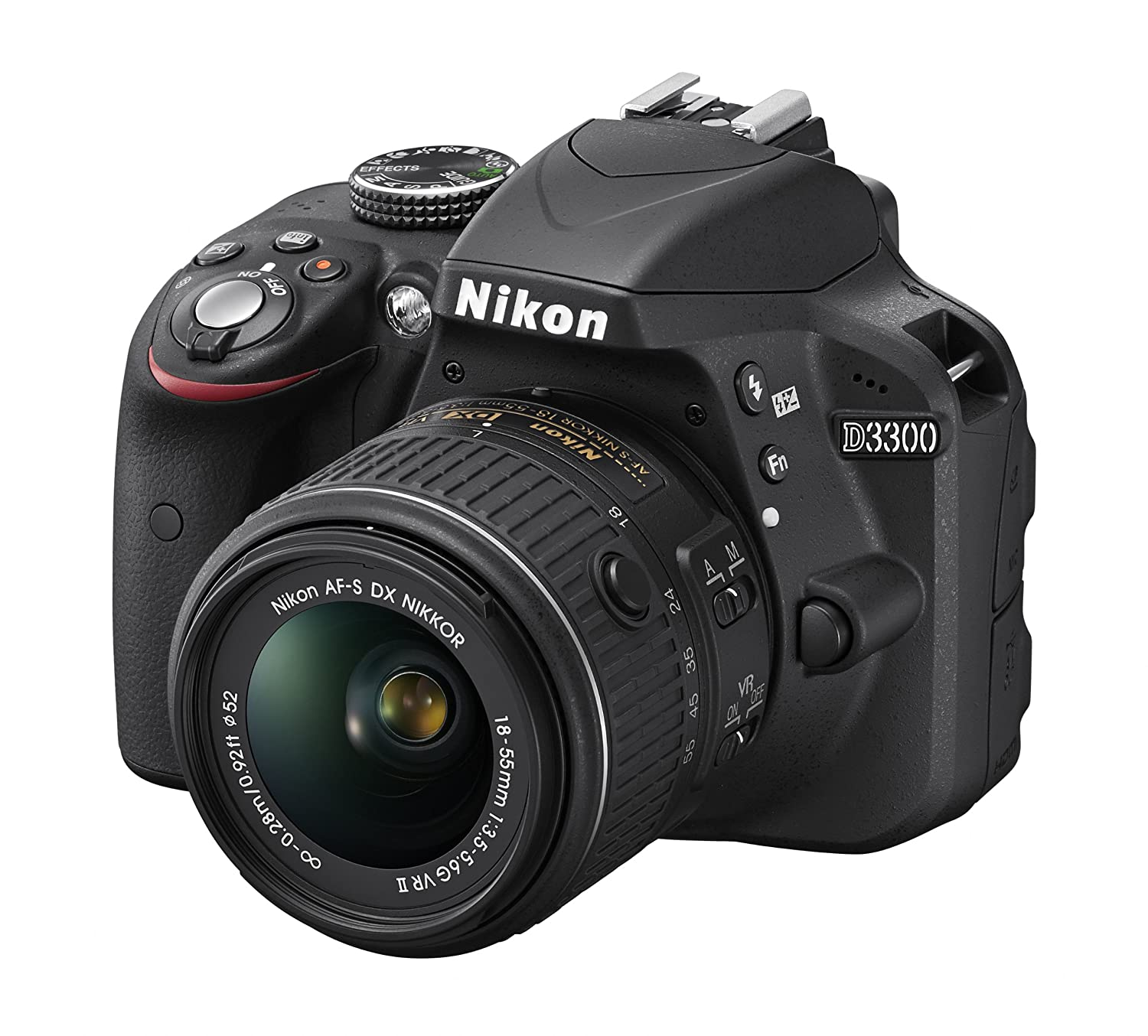 Camera Where Can I Sell My Dslr Camera amazon com nikon d3300 1532 18 55mm f3 5 6g vr ii auto focus s dx nikkor zoom lens 24 2 mp digital slr black camera