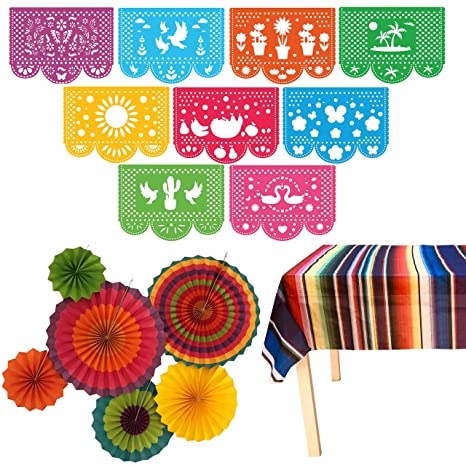 photograph about Cinco De Mayo Printable Decorations known as Jeldas Fiesta Bash Resources Mexican Decorations Topic Decor for Birthday, Cinco De Mayo, Coco, Taco, and so forth. Heavy Felt Papel Picado Banner