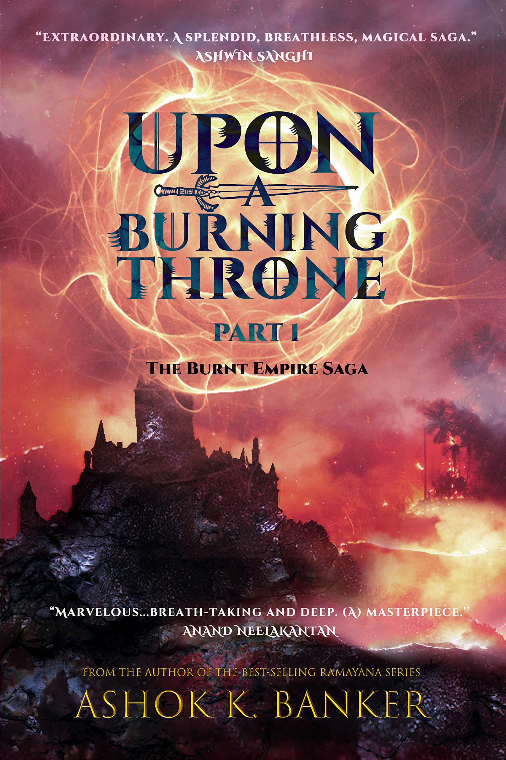 Image result for upon a burning throne review