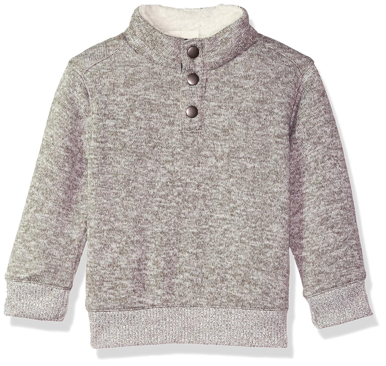 Crazy 8 Baby Boys' Long Sleeve Mock Button Pullover