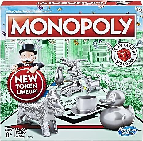 Hasbro Gaming – Monopoly Velocidad Die Edition: Amazon.es: Juguetes y juegos