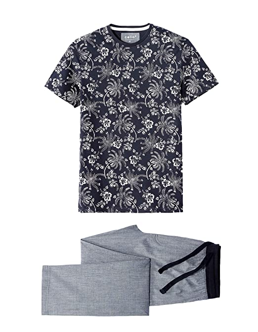 Celio Lipyfleur, Conjuntos de Pijama para Hombre: Amazon.es: Ropa y accesorios