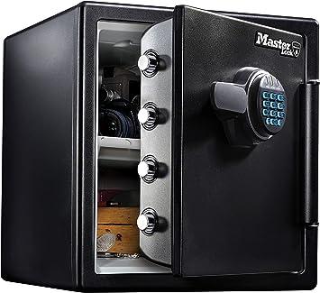 Master Lock Caja Fuerte de Seguridad [Ignifuga y Resistente al Agua] [Combinación Digital] [X large] -LFW123FTC, Negro, Extra Large: Amazon.es: Bricolaje y herramientas