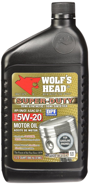 La cabeza del lobo 836 - 91046 - 56 aceite de motor, (1 ...