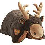 """Pillow Pets 18"""" Sweet Scented Chocolate Moose, Stuffed Animal Plush Toy"""