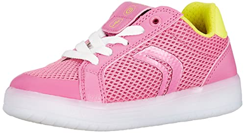 Geox Girl s J Kommodor Girl A Low-Top Sneakers  Amazon.co.uk  Shoes ... 7d734ae20f2