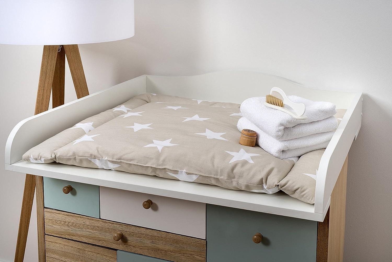 KraftKids Accesorio para cambiador, compatible con la cómoda Malm, color blanco