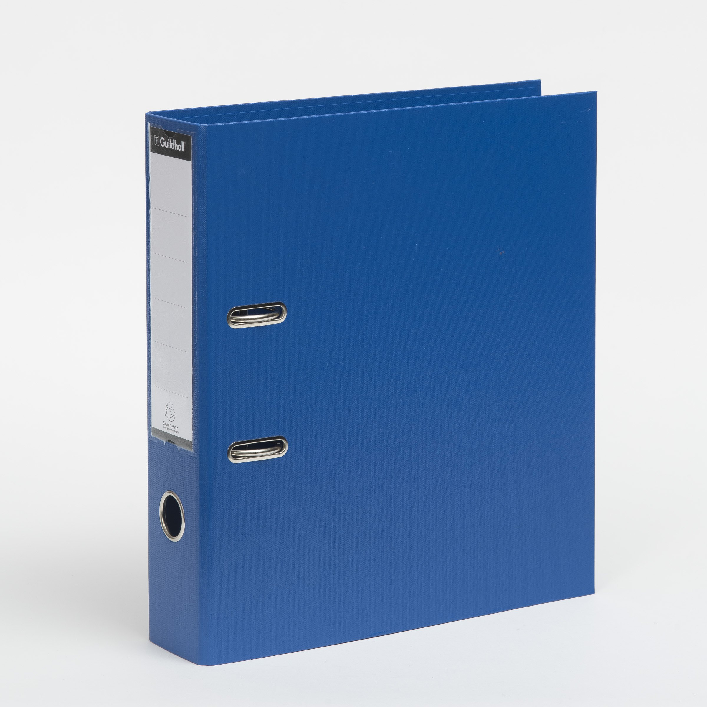 Guildhall 222/2001Z 2 Ring 70 mm Spine A4 Lever Arch File - Blue