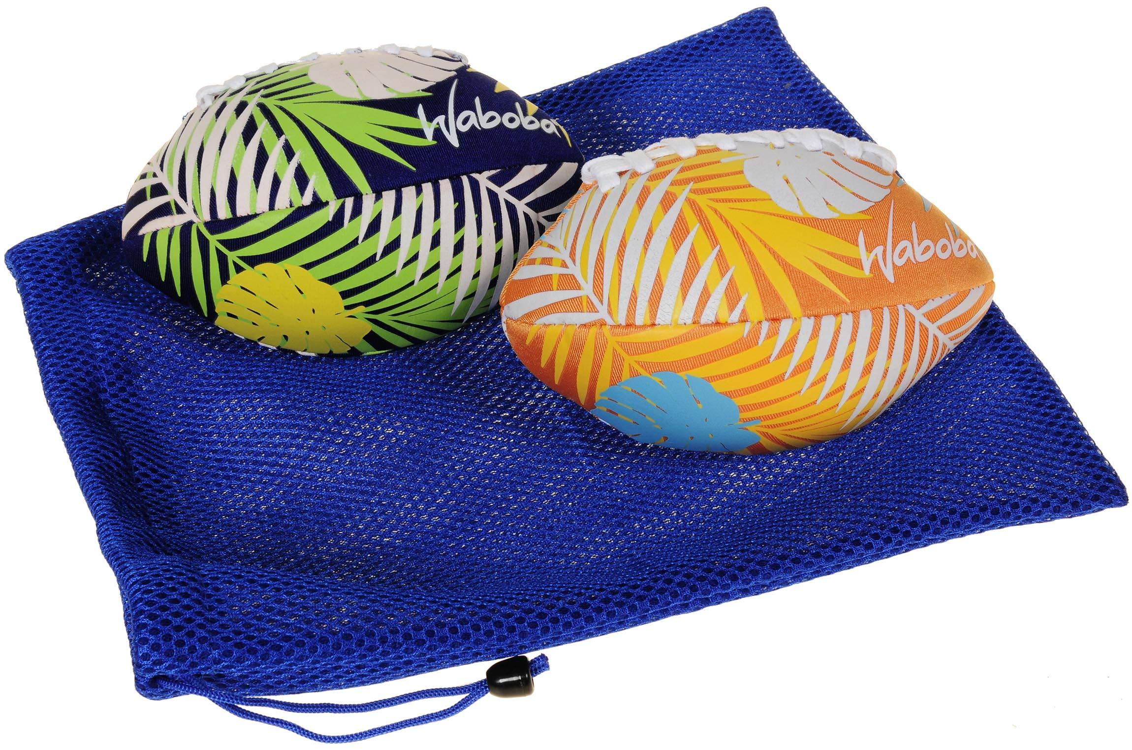 Waboba Color Changing Water Football 6'' // Bundle of 2 Footballs (Random Colors) // Bonus Blue Nylon Mesh Carry Bag// Bundled Items by Waboba (Image #3)