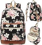 Kenox Girl's School Rucksack College Bookbag Lady Travel Backpack 14Inch Laptop