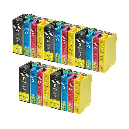 20 Cartuchos de impresora para Epson T1301 T1302 T1303 T1304 ...
