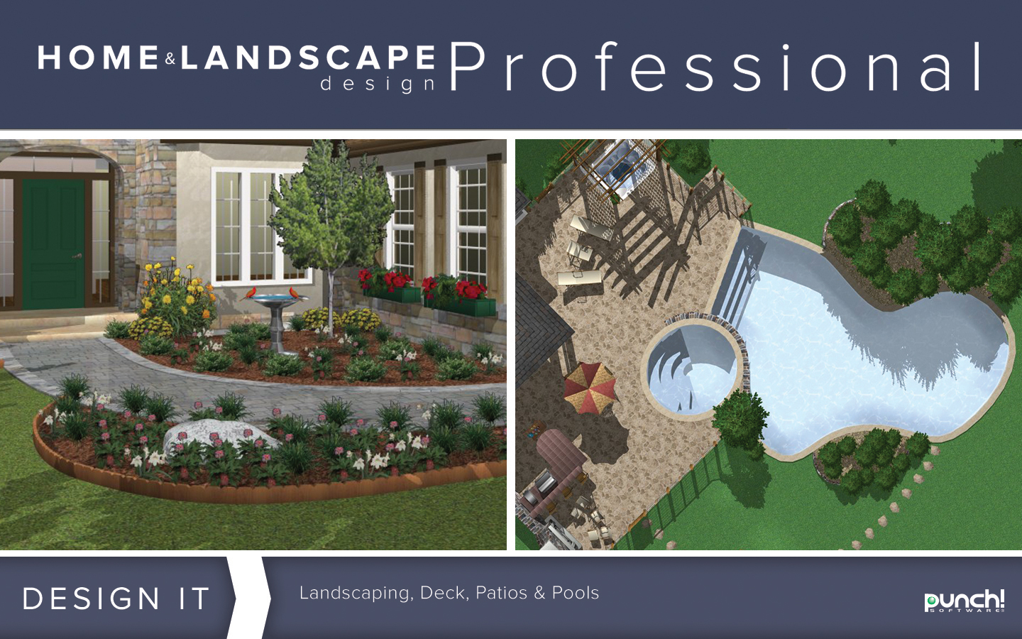 Punch home landscape design professional v19 home - Best home and landscape design software ...