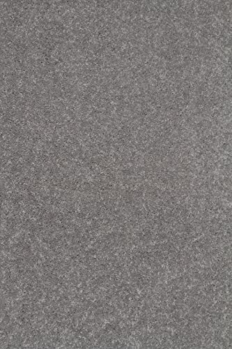 Bright House Solid Color Area Rug, 9 W x 12 L, Grey
