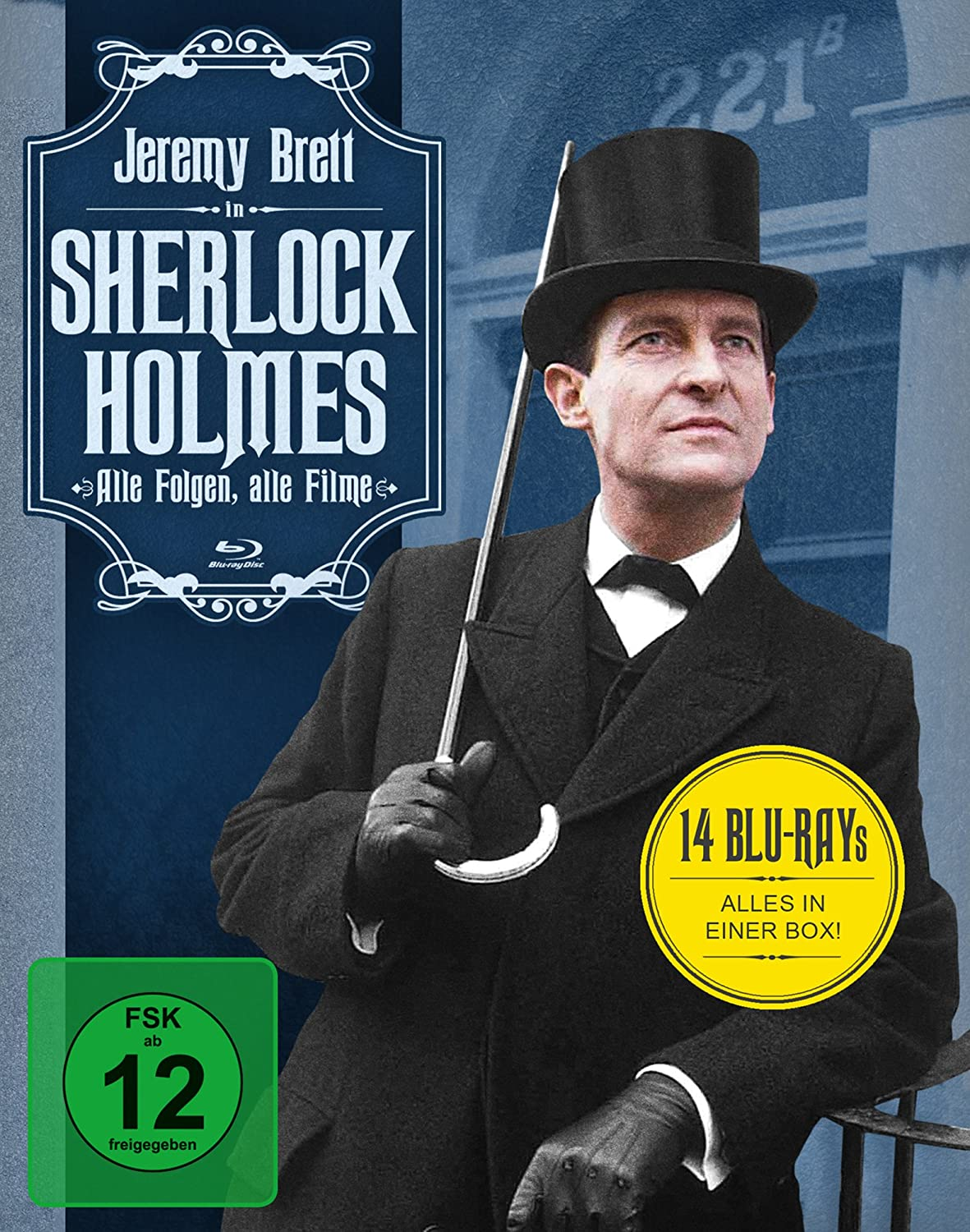 Amazon Com Sherlock Holmes Complete Series 14 Disc Box Set The Memoirs Of Sherlock Holmes The Sign Of Four The Hound Of The Baskervilles The Master Non Usa