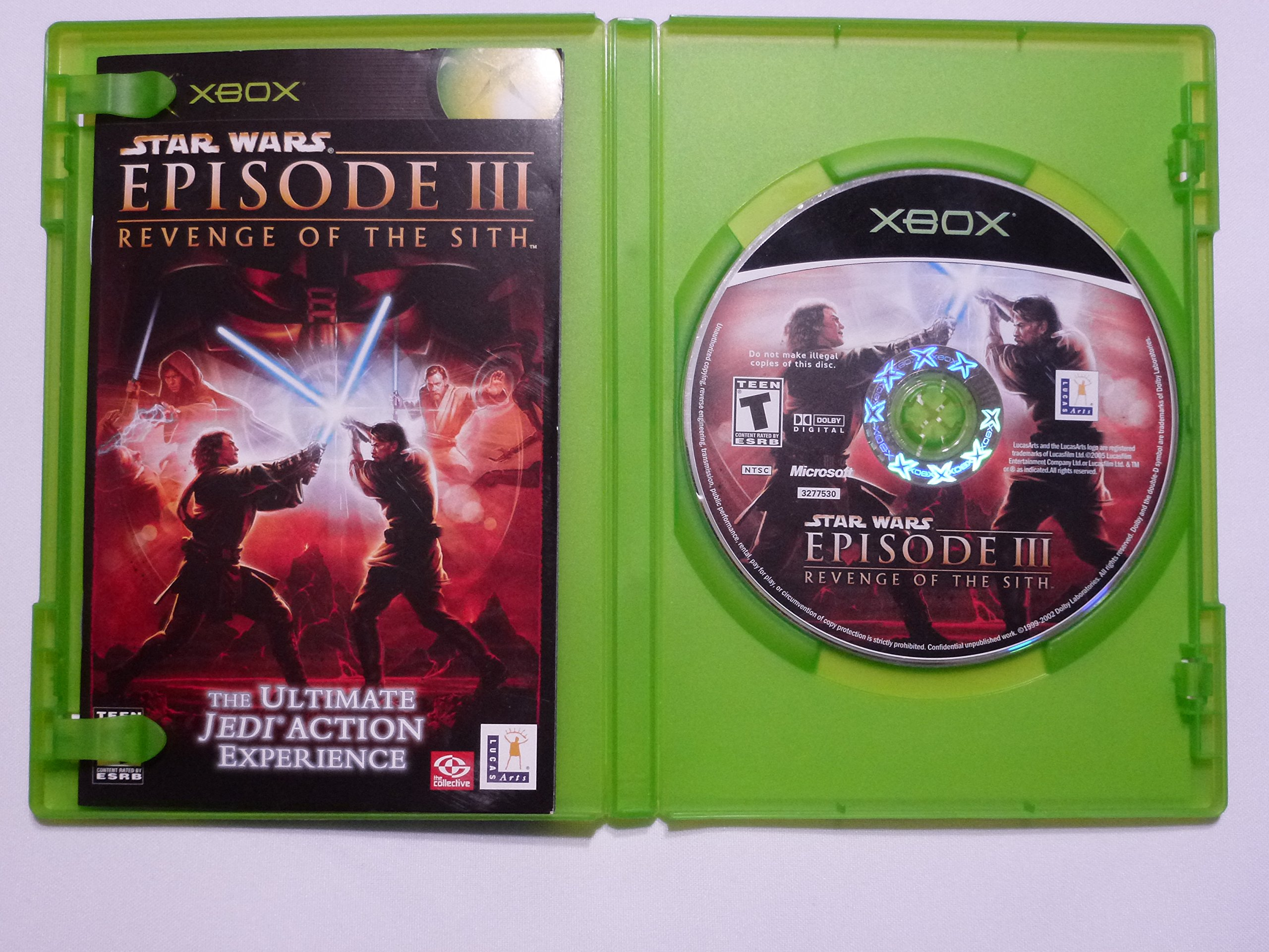 Star Wars Episode Iii Revenge Of The Sith Xbox Buy Online In Brunei Lucasarts Products In Brunei See Prices Reviews And Free Delivery Over Bnd100 Desertcart