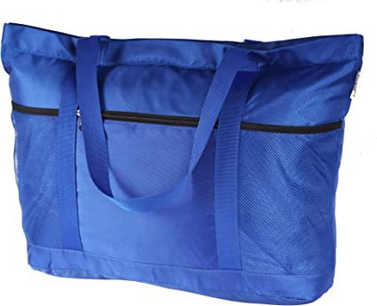 Knitting Tool Soft Carrying case//pouch with Zipper Museum gift item Blue