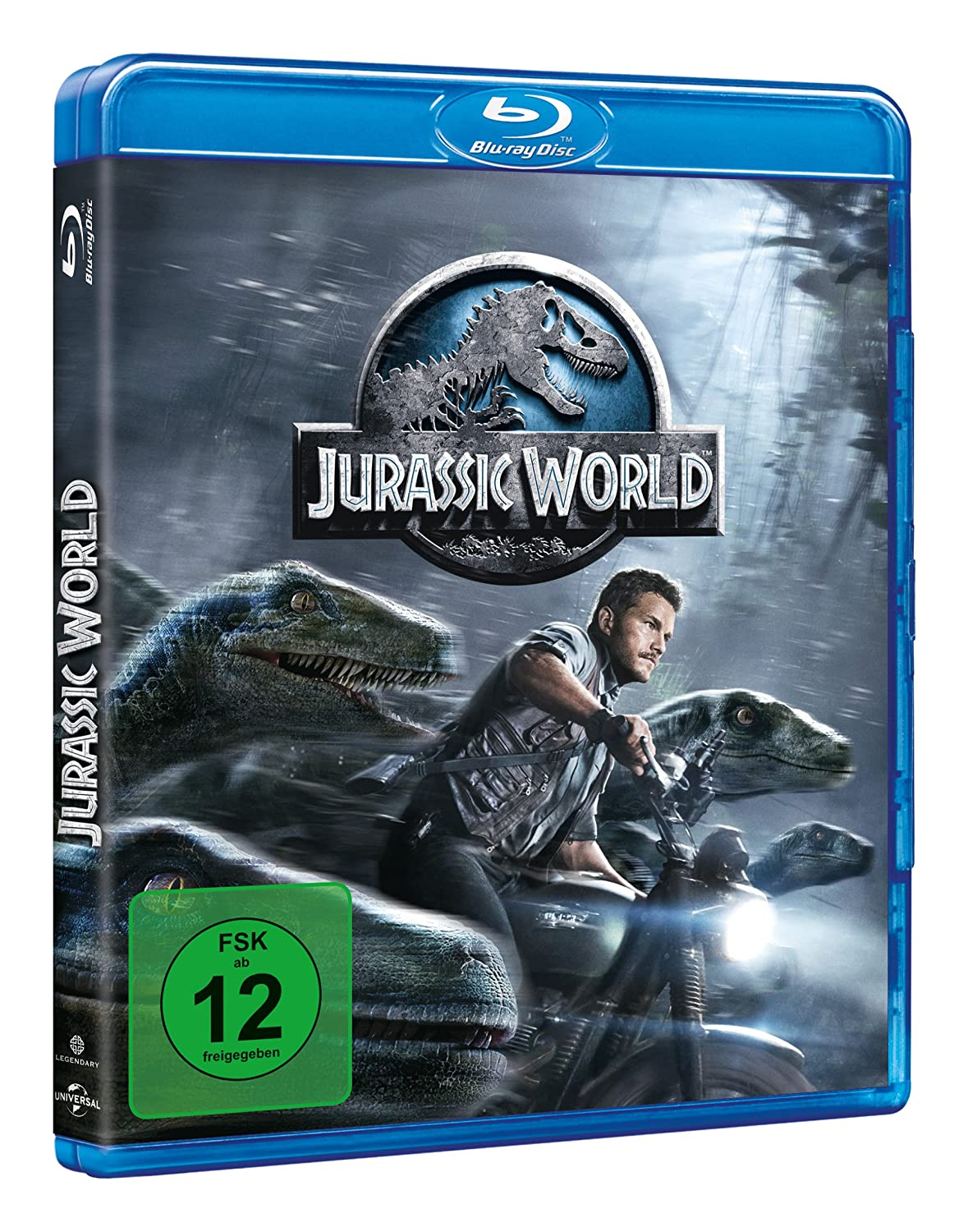 Jurassic World - Ultra HD Blu-ray [4k + Blu-ray Disc]