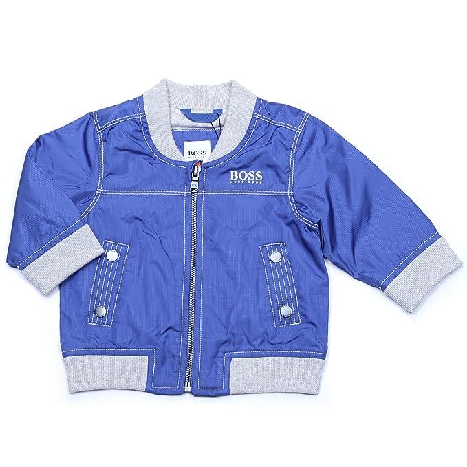 2e2b6ad4fa34 Amazon.com  Hugo Boss Little Boys Windbreaker Jacket with Cotton ...