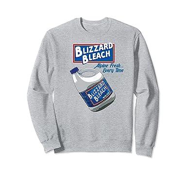 Amazon Com Blizzard Bleach Funny Theme Park Water Park Sweatshirt