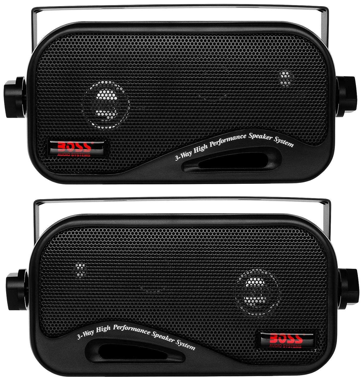 Boss AVA6200 80W 4-Ohm 3-Way Box Speaker BOSS AUDIO AVA-6200