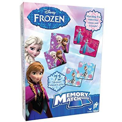 Disney Frozen Memory Match Game Styles Will Vary: Toys & Games