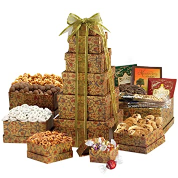 Broadway Basketeers The Ultimate Happy Birthday Gift Tower
