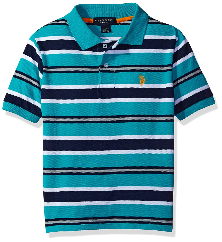 Amazon Us Polo Assn Boys Classic Striped Polo Shirt Clothing
