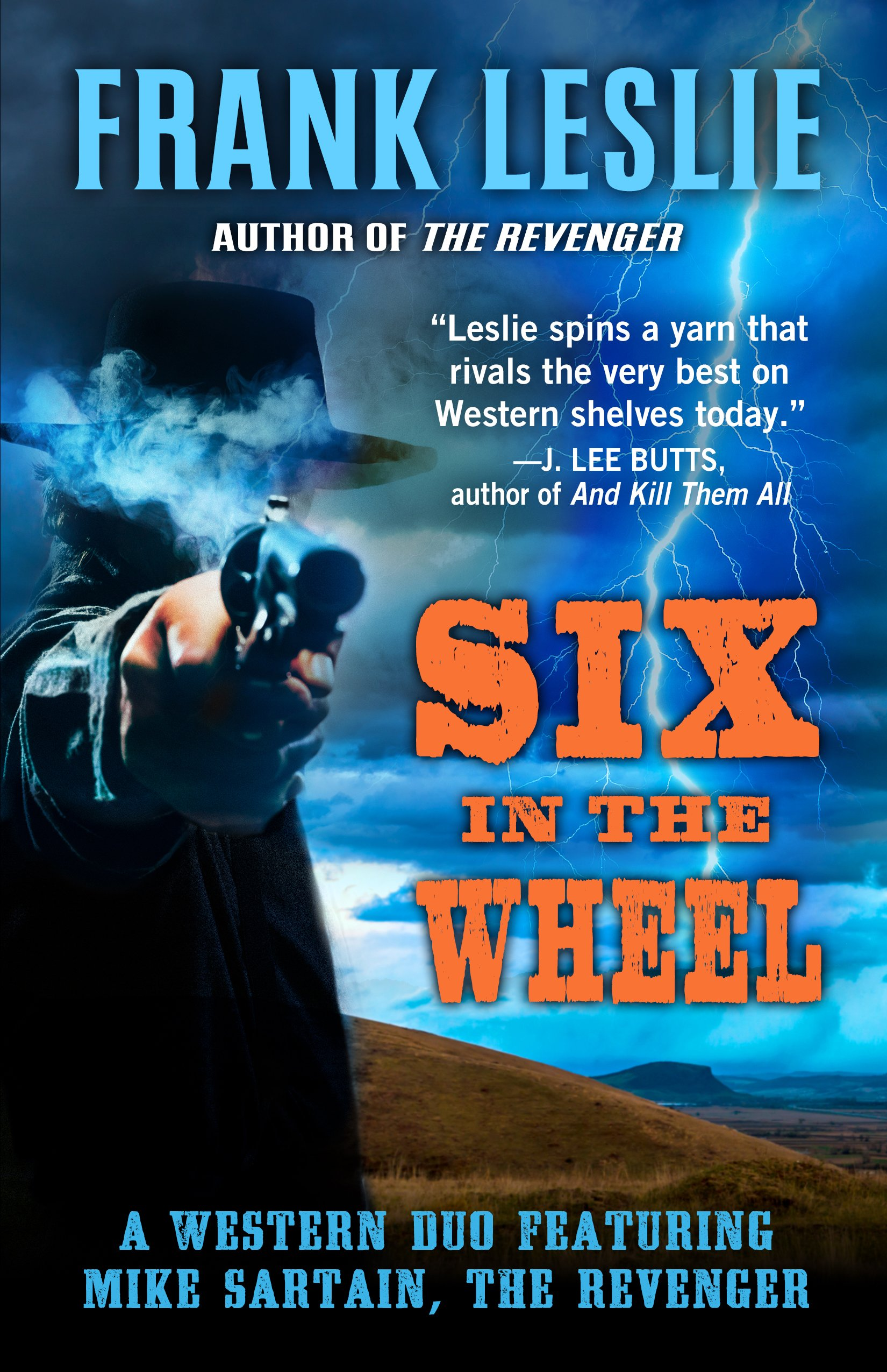 Download Six In the Wheel (Mike Sartain, The Revenger) pdf