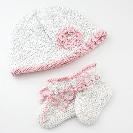 Babyschuhe Stricken Strickset Häkelset Baby Babysocken Mütze