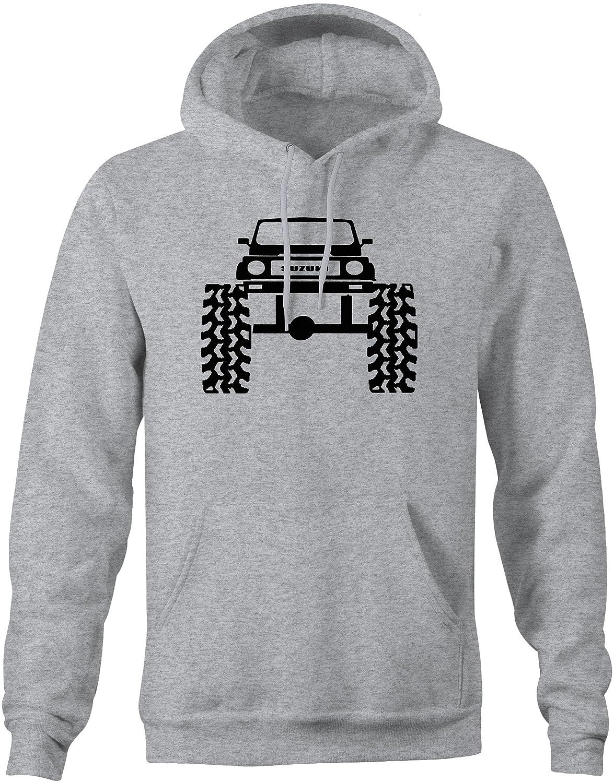 Suzuki Samari 4x4 Lifted Offroad Mud Tires Truck Sweatshirt