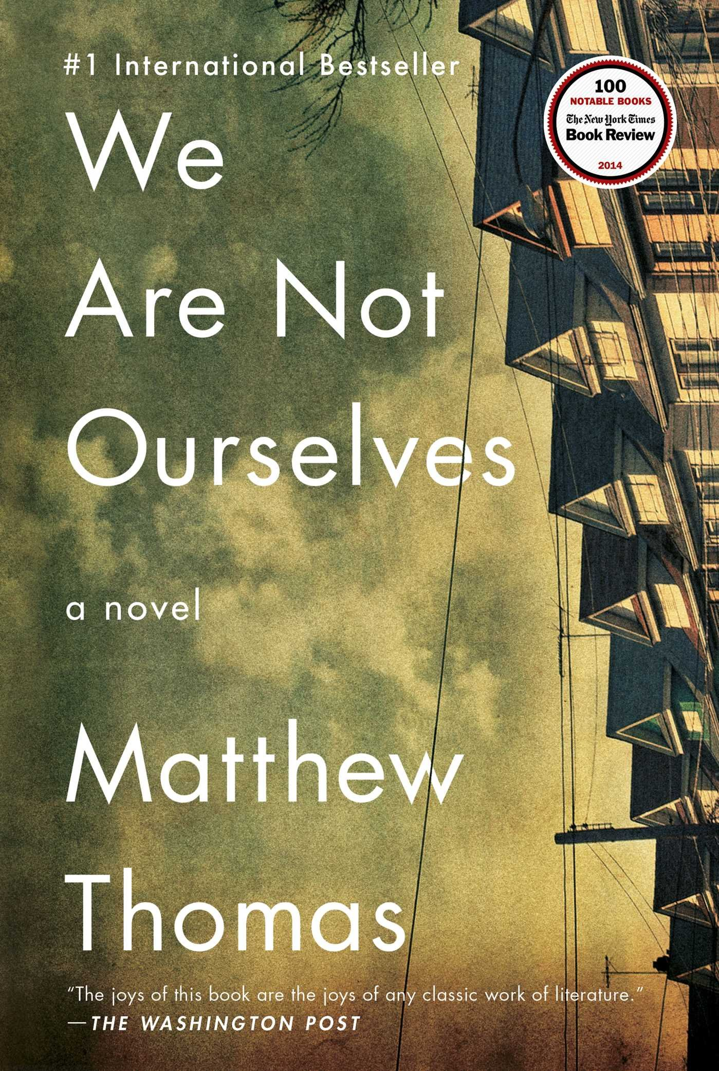 Amazon: We Are Not Ourselves: A Novel (9781476756677): Matthew Thomas:  Books