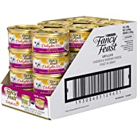 Fancy Feast Delights With Cheddar Chicken Wet Cat Food, 24 Can, 24X85g