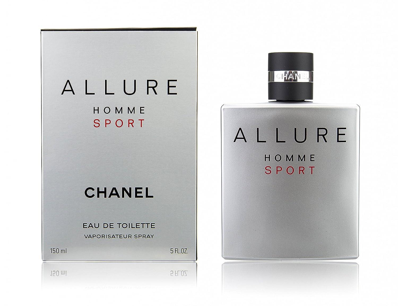 CHANEL ALLURE HOMME SPORT agua de tocador vaporizador 150 ml: Amazon.es: Belleza