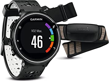 Garmin Forerunner 230 GPS Running Smartwatch - Smart Features and Heart  Rate Monitor, Black and